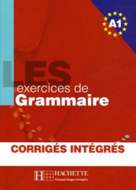 Les exercices de grammaire Niveau A1, corrigés intégrés