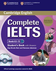 Complete IELTS Bands6.5-7.5C1 Student's Pack (Student's Book with answers with CD-ROM and Class Audio CDs (2))
