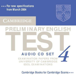Cambridge Preliminary English Test 4 Audio CDs (2)