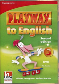 Playway to English Second edition Level3 DVD PAL