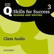 Q: Skills For Success Level 3 Reading & Writing Class Audio Cd (x3)