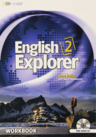 English Explorer 2 Workbook with Audio Cd (x2)