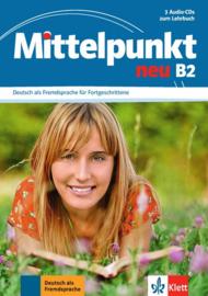 Mittelpunkt neu B2 3 Audio-CDs bij het Lehrbuch