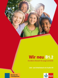 Wir neu B1.2 Studentenboek en Werkboek met Audio-CD