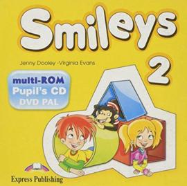 Smiles 2 Pupils Multi Rom Pal (international)