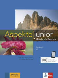 Aspekte junior B2 Studentenboek met Audio en Video