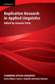 Replication Research in Applied Linguistics Paperback