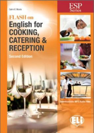 E.s.p. - Flash On English  For Cooking,  Catering And Reception - New 64 Page Edition