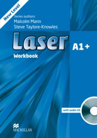 Laser 3rd edition Laser A1+  Workbook without Key & CD Pack