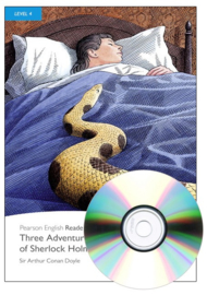 Three Adventures of Sherlock Holmes Book & CD Pack