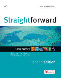 Straightforward 2nd Edition Elementary Level  Student's Book + eBook Pack