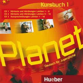 Planet 1 3 Audio-CDs bij het Studentenboek