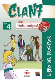 Clan 7 con ¡Hola, amigos! 4 - Libro del profesor