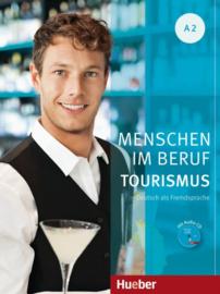 Menschen im Beruf - Toerisme A2 Studentenboek met Werkboek en Audio-CD