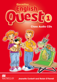 Macmillan English Quest Level 1 Audio CDs (3)