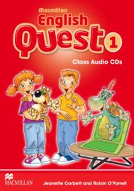 Macmillan English Quest Level 1 Audio CDs (3)