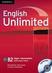 English Unlimited UpperIntermediate Self-study Pack (Workbook with DVD-ROM)