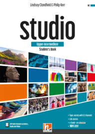 STUDIO upper-inter. Student's Book + e-zone