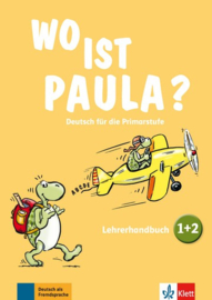 Wo ist Paula? 1+2 Lerarenboek zu den Bänden 1 en 2 met vier Audio-CDs en Video-DVD