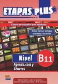 Etapas Plus B1.1. Agenda.com y Géneros - Libro del alumno/Ejercicios + CD