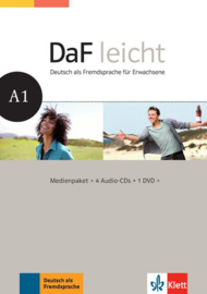 DaF leicht A1 Multimediapakket (4 Audio-CDs + 1 DVD)
