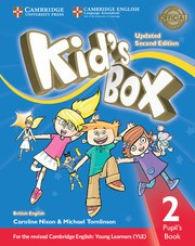 Kid's Box Updated Second edition Level2 Pupil's Book