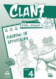 Clan 7 con ¡Hola, amigos! 4 - Cuaderno de actividades