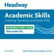 Headway Academic Skills Introductory Listening, Speaking, And Study Skills Class Audio Cds (2)