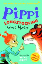 Pippi Longstocking Goes Aboard (The World of Astrid Lindgren) Astrid Lindgren, Mini Grey)