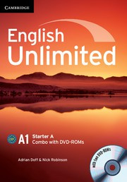 English Unlimited Combos Starter A Combo with DVD-ROMs (2)