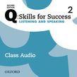 Q: Skills For Success Level 2 Listening & Speaking Class Audio Cd (x3)