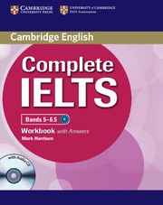 Complete IELTS Bands5-6.5B2 Workbook with answers with Audio CD