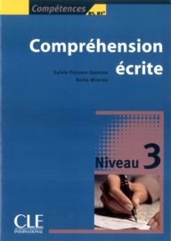 Compréhension écrite 3 - Niveau B1/B1+ - Livre