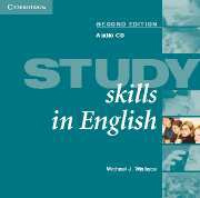 Study Skills in English Second edition Audio CD