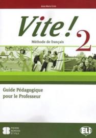 Vite! 2 Teacher's Guide + 2 Class Audio CDs + 1  Test CD