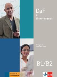 DaF im Unternehmen B1/B2 Übungsbuch met Audios online