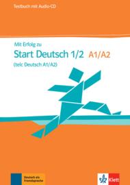 Mit Erfolg zu Start Deutsch 1/2 (telc Deutsch A1/A2) Testbuch + Audio-CD