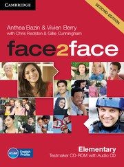 face2face Second edition Elementary Testmaker CD-ROM and Audio CD