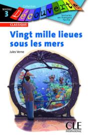 Vingt mille lieues sous les mers - Niveua 3 - Lecture Découverte - Livre