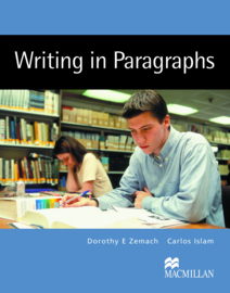 Macmillan Writing Series Writing in Paragraphs Student Book