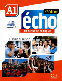 Echo - Niveau A1 - Livre de lélève + DVD-Rom + livre-web - 2ème édition
