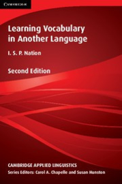 Learning Vocabulary in Another Language Second edition Paperback