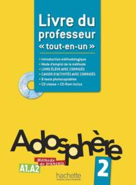 Adosphère 2 A1-A2 - Livre du professeur