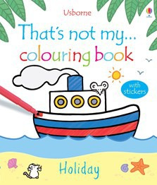 That's not my colouring book... Holiday