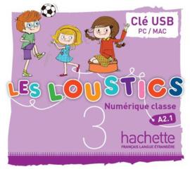 Les Loustics 3 - Clé USB Manuel numérique enrichi enseignant
