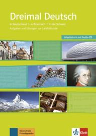 Dreimal Deutsch Werkboek + Audio-CD