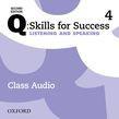 Q: Skills For Success Level 4 Listening & Speaking Class Audio Cd (x4)