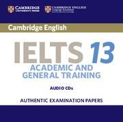 Cambridge IELTS 13 Academic Audio CDs