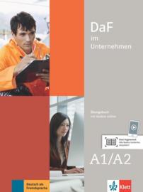 DaF im Unternehmen A1-A2 Übungsbuch met Audios online