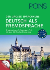 PONS Der große Sprachkurs Deutsch als Fremdsprache, m. MP3-CD